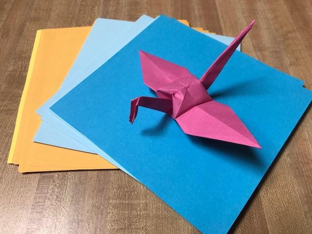Origami Cranes Only 999 To Go Heather Hepler Blog